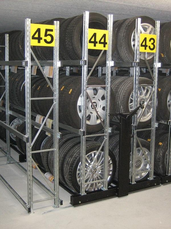 Racks for medium loads
